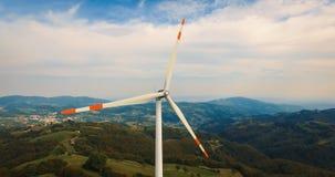 Single wind turbine. Stock Photos