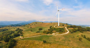 Single wind turbine. Stock Photos