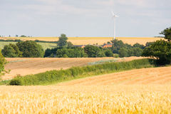 Single wind turbine Stock Photography