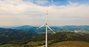 Single wind turbine. Stock Photography