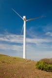 Single windmill Royalty Free Stock Photos
