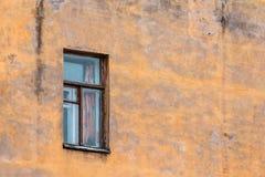 Single window on facade Stock Photography