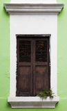 A Single Window of Old San Juan Royalty Free Stock Photography