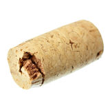 Single wine cork royalty free stock images