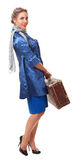 Single woman traveling Stock Image