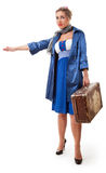 Single woman traveling Royalty Free Stock Photos
