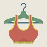 Single Women Sport Bra On Hanger Royalty Free Stock Photos