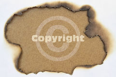 Single word Copyright Royalty Free Stock Photography
