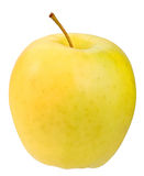 Single a yellow apple Royalty Free Stock Photography