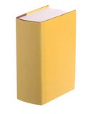 Single yellow book Royalty Free Stock Photo