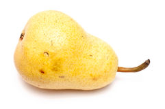 A single yellow pear Stock Images