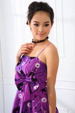 Single young woman Stock Photo