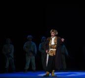 "Singlehero-Peking Opera ""Taking Tiger Montain By Strategy"" Royalty Free Stock Photo"