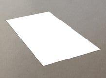 Singola aletta di filatoio bianca in bianco Immagine Stock
