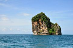 Singola isola, Tailandia Fotografie Stock