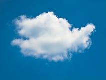 Singola nube Immagini Stock