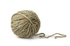 Singola palla delle mélange di filato Fotografie Stock
