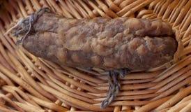 Singola salsiccia francese Immagini Stock