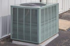 Singola unità della pompa di calore Fotografia Stock Libera da Diritti
