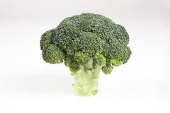 Singoli broccoli maturi freschi fotografia stock libera da diritti
