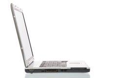 Singolo computer portatile Immagini Stock Libere da Diritti