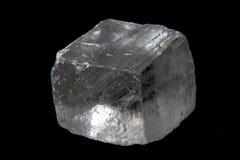 Singolo cristallo di quarzo Fotografia Stock Libera da Diritti