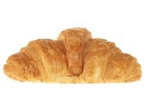 Singolo Croissant fotografie stock