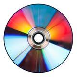 Singolo DVD/CD (parte posteriore) fotografia stock libera da diritti