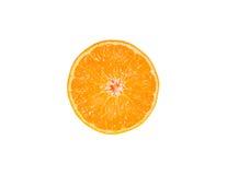 Singolo mandarino, mandarino Fotografia Stock