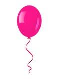 Singolo pallone rosa. Immagini Stock