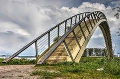 Singolo ponte dell'arco della portata fotografia stock libera da diritti