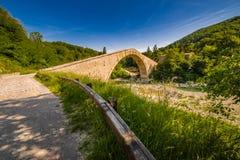 Singolo ponte della portata fotografia stock