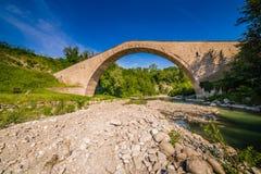 Singolo ponte della portata immagine stock