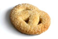 Singolo primo piano del biscotto. Fotografia Stock
