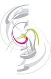 Singolo reticolo astratto Fotografie Stock
