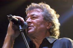 Singr of Deep Purple in Brno, 2006 Stock Photo