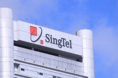 SingTel imagen de archivo libre de regalías