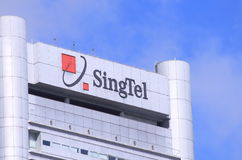 SingTel 免版税库存图片