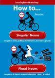 Singular and Plural Nouns Royalty Free Stock Photos