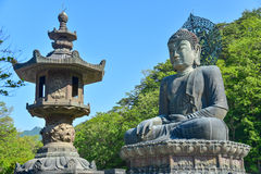 Sinheungsa-Tempel in Nationalpark Seoraksan Lizenzfreies Stockbild