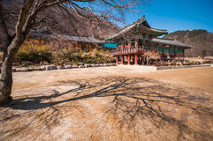 Sinheungsa temple Royalty Free Stock Photography