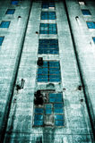 Sinister dark building Royalty Free Stock Images