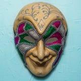 Sinister Joker mask Royalty Free Stock Images