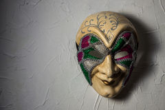 Sinister Joker mask Royalty Free Stock Photos