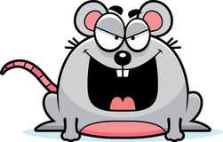 Sinister Little Mouse Stock Images