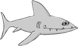 Sinister Shark Royalty Free Stock Photography