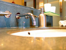 Sink. A sink royalty free stock photos