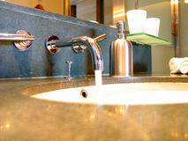 Sink. A sink stock photo