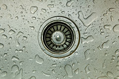 Sink. The kitchen sink is the most common items of Royalty Free Stock Photography