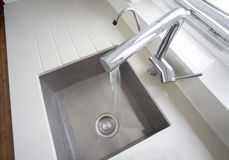 Sink From Above Royalty Free Stock Photography